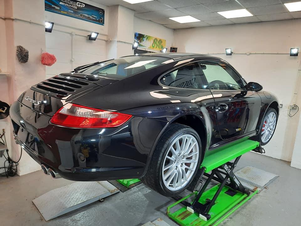 Porsche 911 Carrera S Minor Correction Detail + Ceramic Coating Upgrade